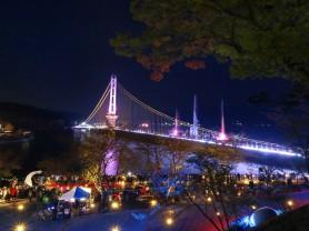 예당호 출렁다리·음악분수 '철벽 방역' 속 방문객 350만명 돌파!